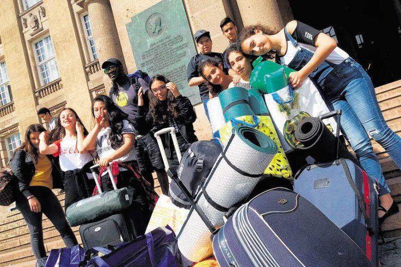 Fairtrade-Tournee in vier Partnerstädten