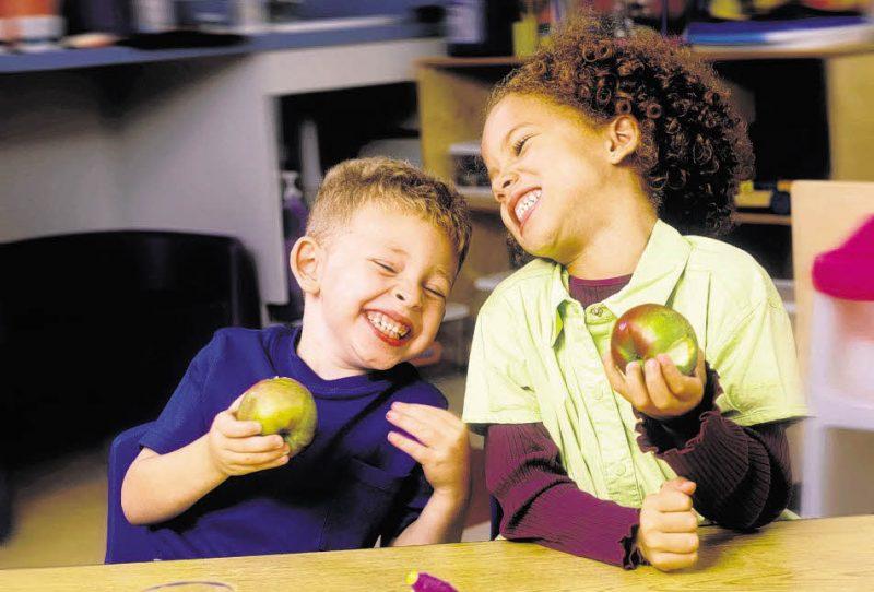 Enfaltung und gesunde Ernährung für Kita-Kinder