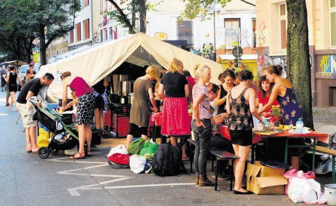 Das Straßenfest für Bauch und Hirn