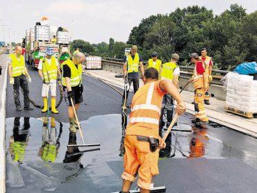 Brückenarbeiten gehen zügig voran