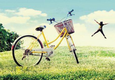 Der Umwelt zuliebe: Rauf aufs Rad!