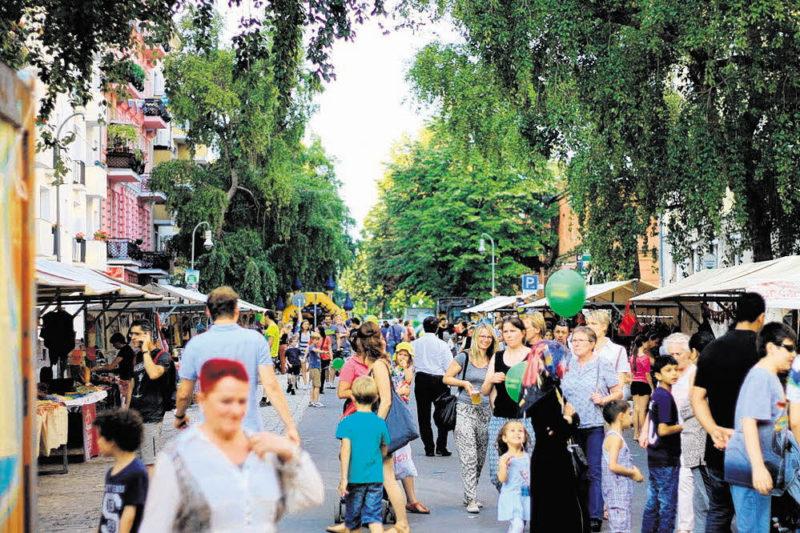 Moabit feiert an der Turmstraße