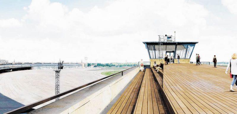 Baustart für den Tempelhof-Tower