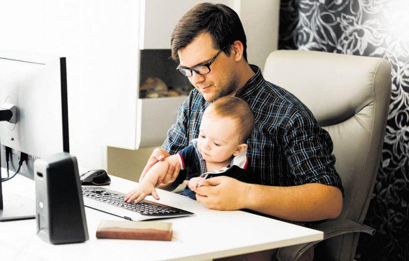 Kopfstand zwischen Job und Familie