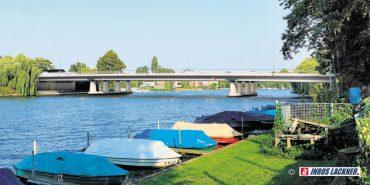 Start für neue Allende-Brücke