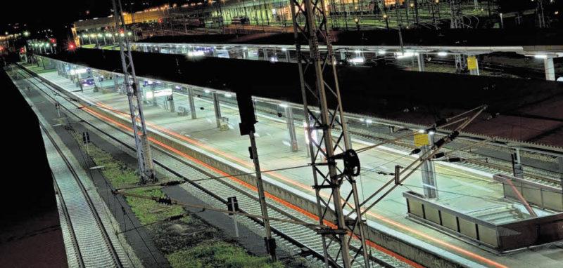Am Bahnhof Lichtenberg wird der Ernstfall geprobt