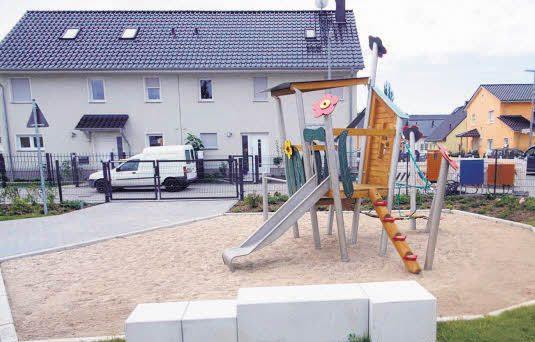 """Neuer Spielplatz im """"Olympiaviertel"""""""