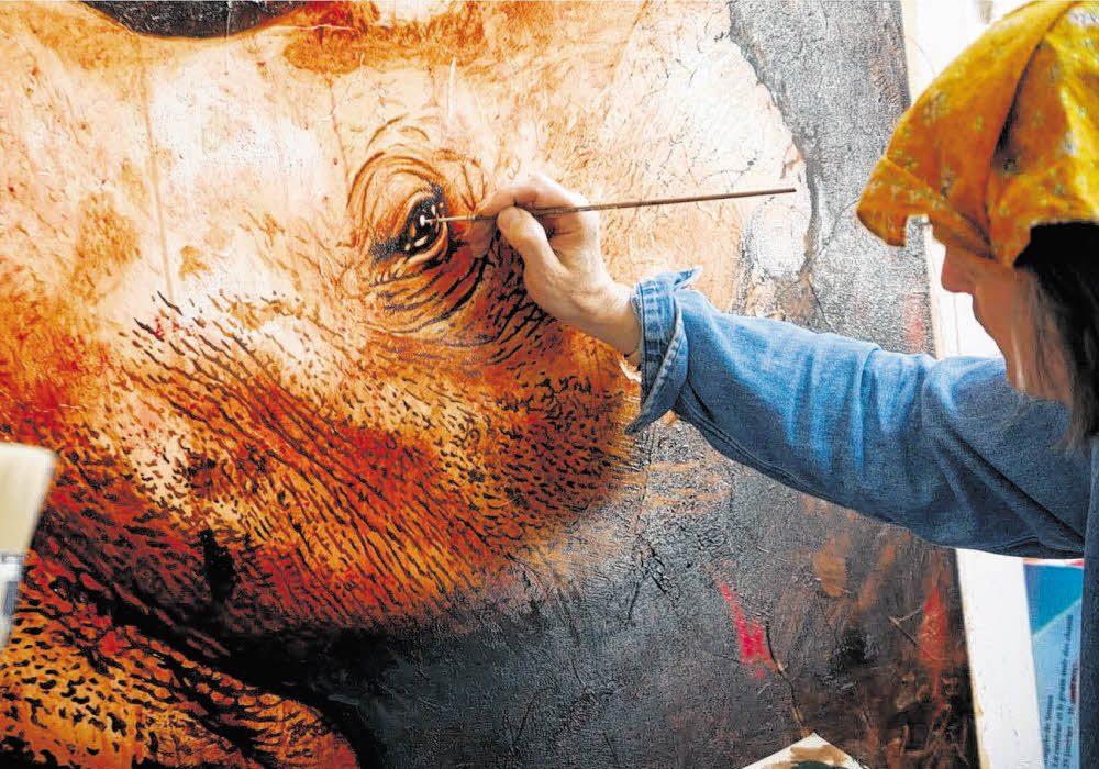 Auktion soll Nashorn-Art retten