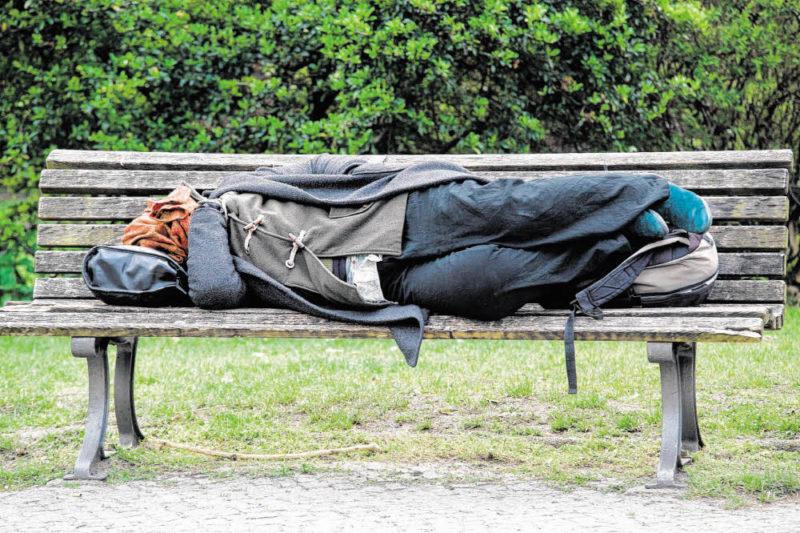 Wirbel um Obdachlose