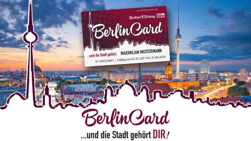 Unterwegs mit der Berlin Card!