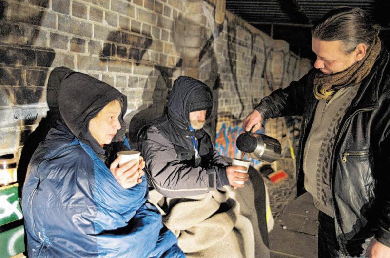 obdachlos unterkunft berlin