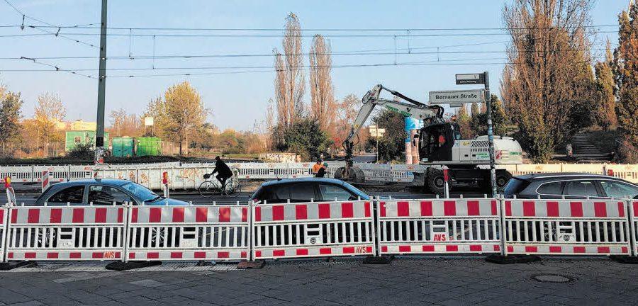 Baustart für den Stauraumkanal im Mauerpark