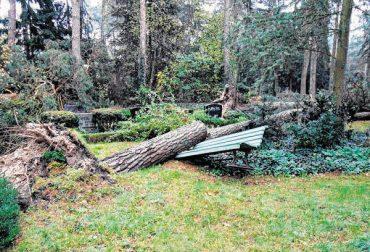 Friedhof wieder zugänglich