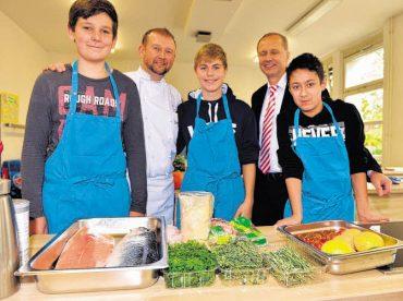 Eine Küche macht Schule