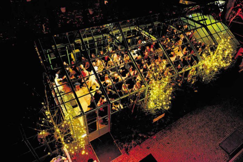 Auf dem Pfefferberg hat der Glaspalast eröffnet