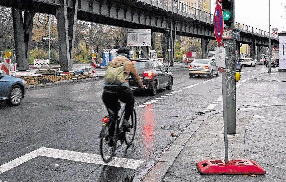 Sicherer radeln an der Skalitzer Straße