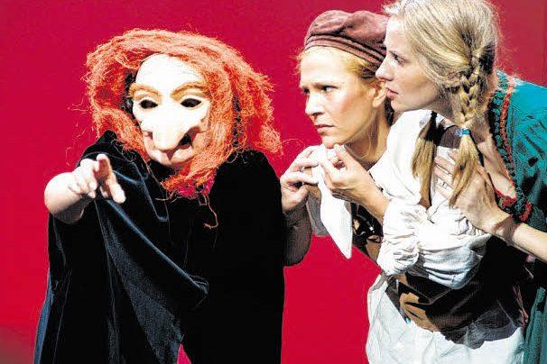 Märchenhafte Inszenierung einer Kinder-Oper