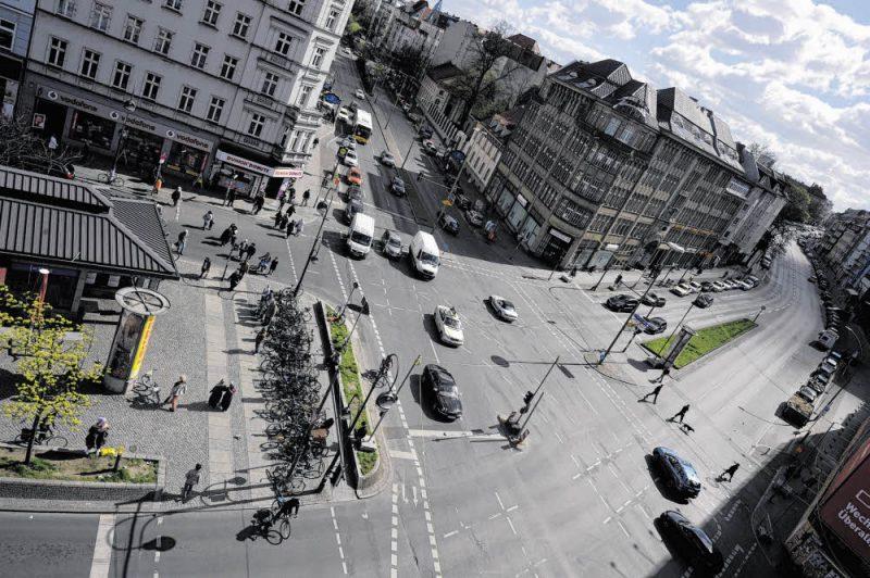 Neue Wege am Unfall-Hotspot Hermannplatz