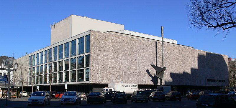 Wasserschaden in der Deutschen Oper