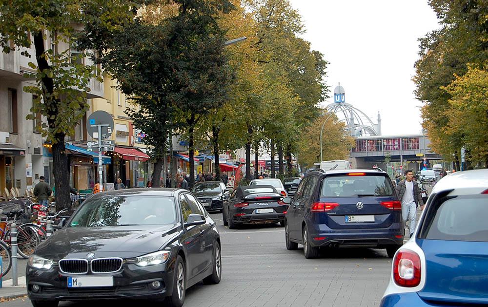 Zweite Projektphase für Begegnungszone Maaßenstraße