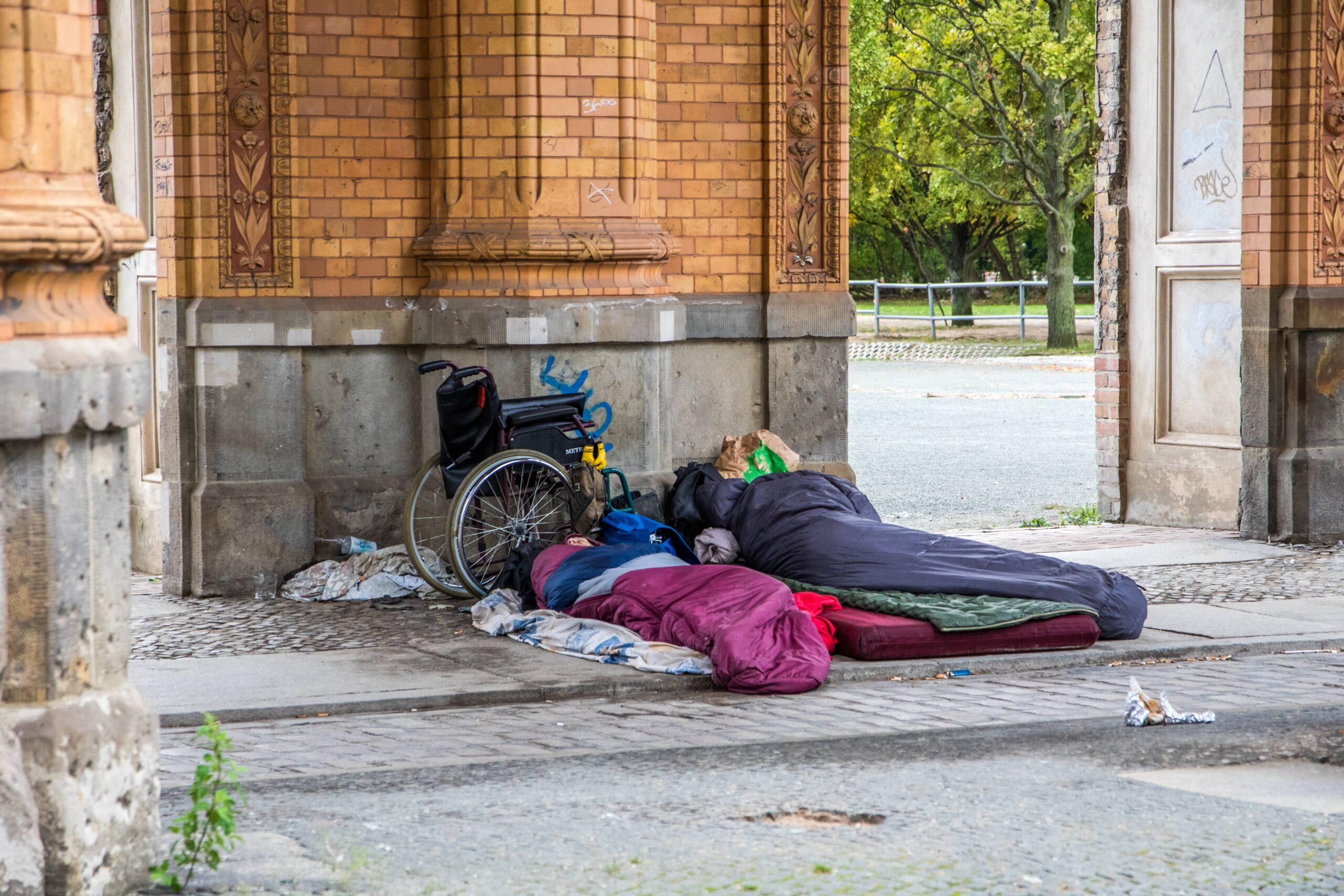Die Not der Obdachlosen wird größer