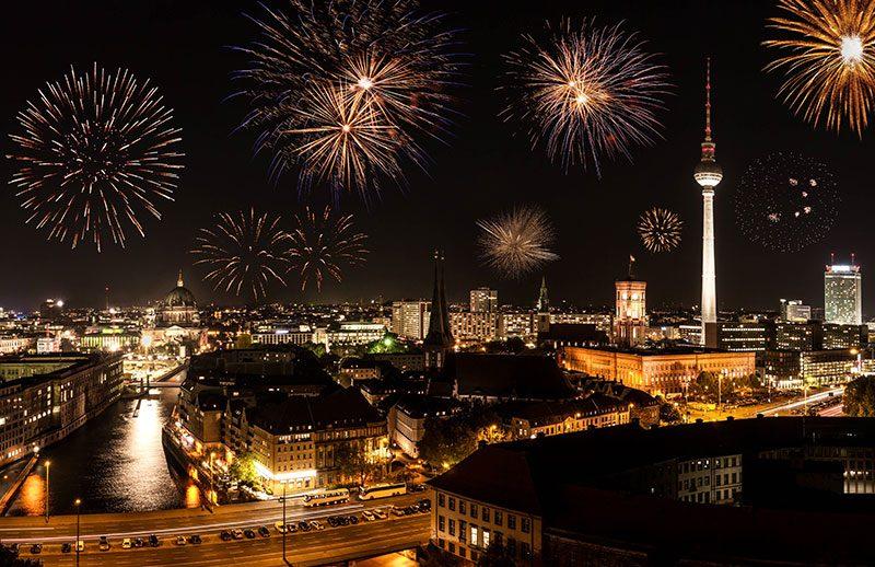 So feiert sich Berlin ins neue Jahr