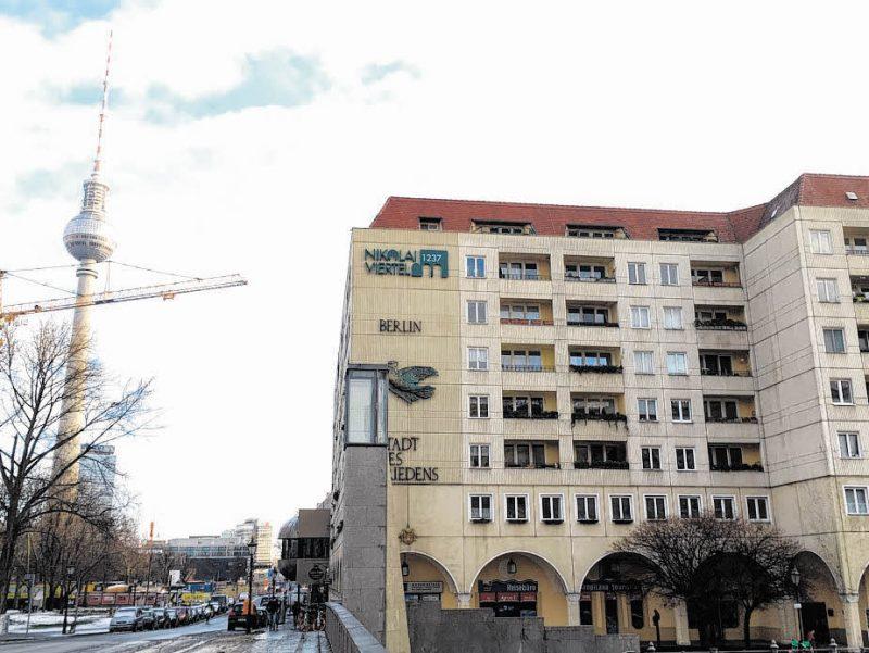 Nikolaiviertel wird bald  Denkmal