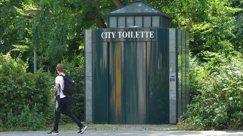 Erleichterung in Sachen City-Toiletten