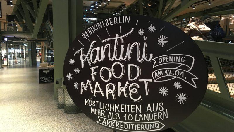Im Kantini schnabuliert Berlin