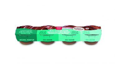 REWE bittet zur Wahl: ein Schoko-Klassiker in vier Zuckerstufen