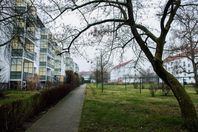 Im Ilse-Kiez wird zwischen die Häuser gebaut