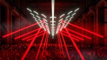 Neue Lichtinstallation von Christopher Bauder