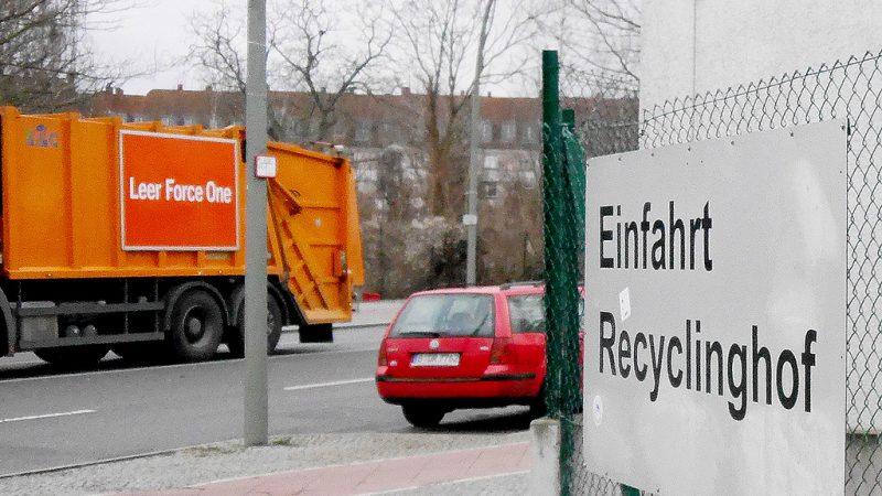 Ärger über geplante Recyclinghof-Schließung