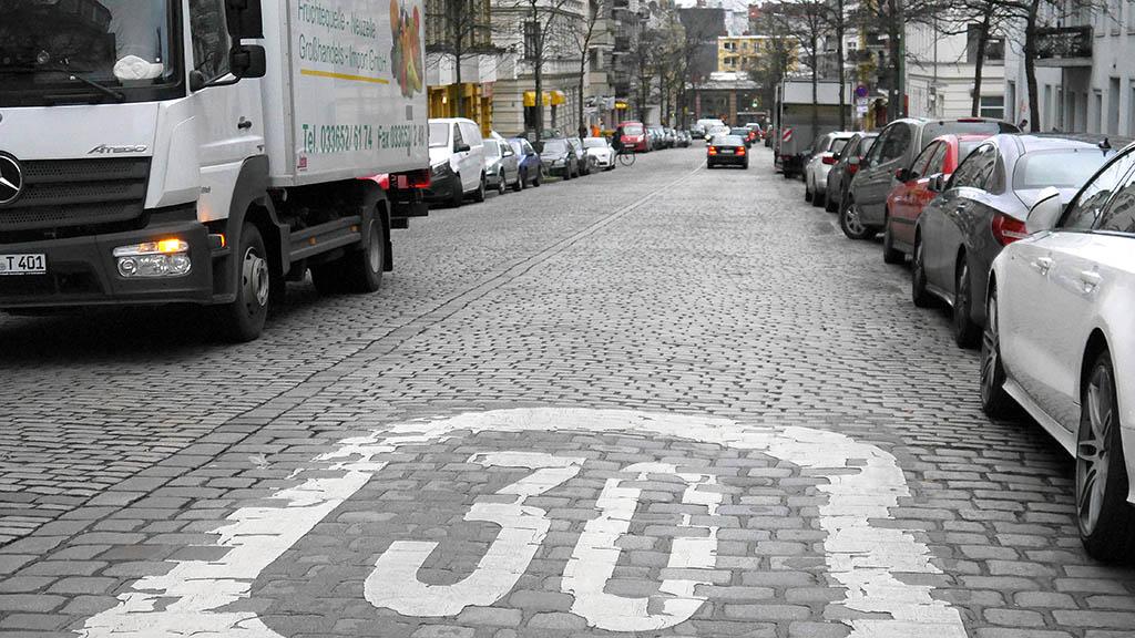 Asphalt für die Friesenstraße