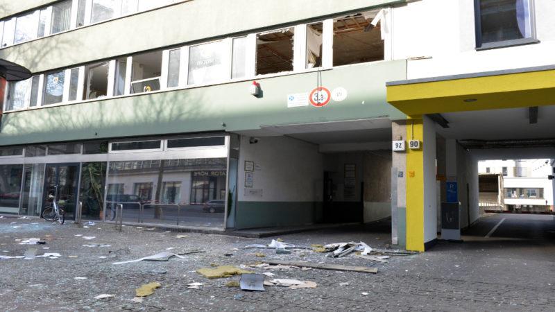 Explosion in Tiergarten