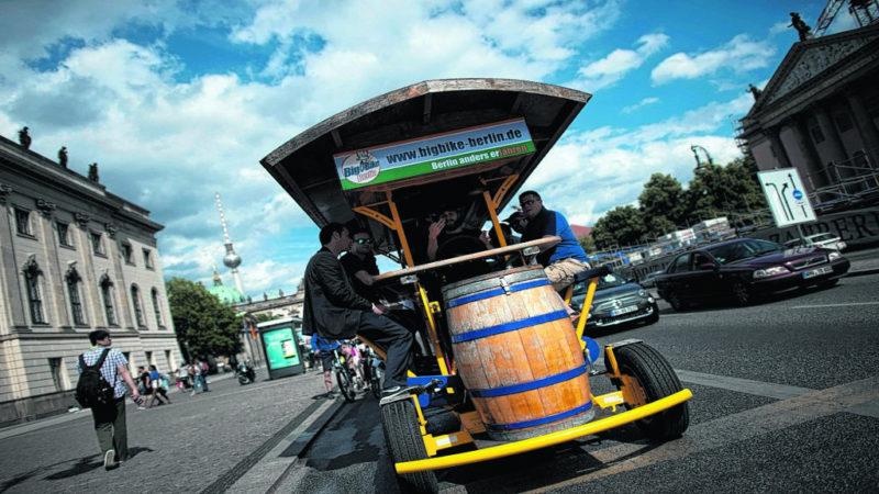 """""""Bier-Bikes"""" dürfen weiter fahren"""