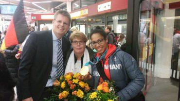 Reinickendorf feiert seine Olympiasiegerin