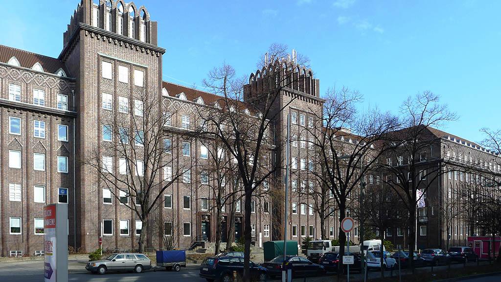 Antiterror-Zentrum im Tempelhofer Reichspostzentralamt