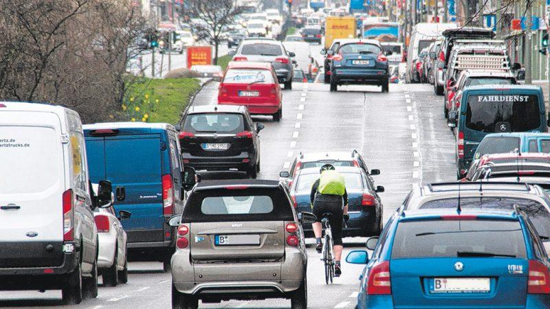 Radweg am Tempelhofer Damm muss noch warten