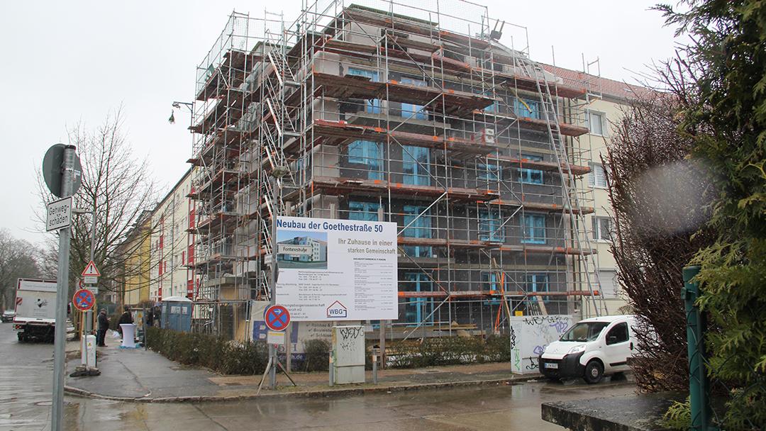 Richtfest für Neubau