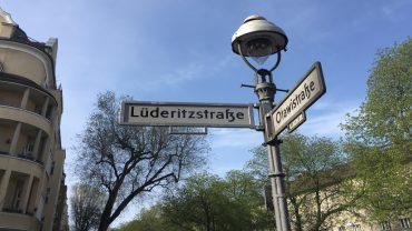 Straßennamen im Afrikanischen Viertel