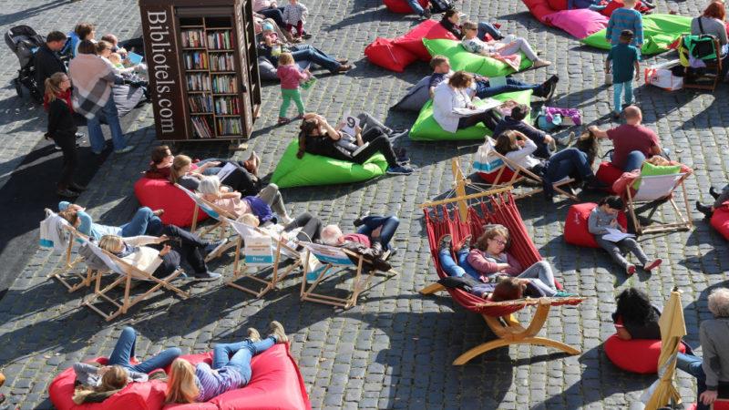 StadtLesen am Bebelplatz