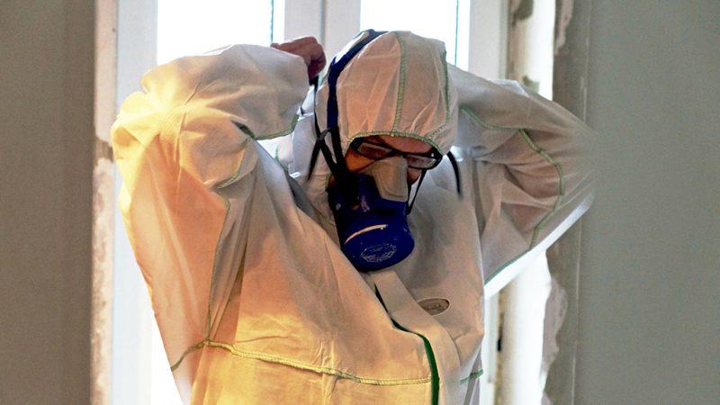 Tausendfacher Asbest-Verdacht