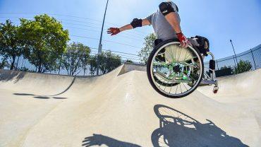 WCMX: Rollstuhl-Skaten zum Anschauen und Mitmachen
