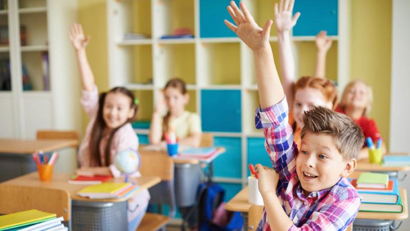 kindern lernen auf sich selbst zu achten