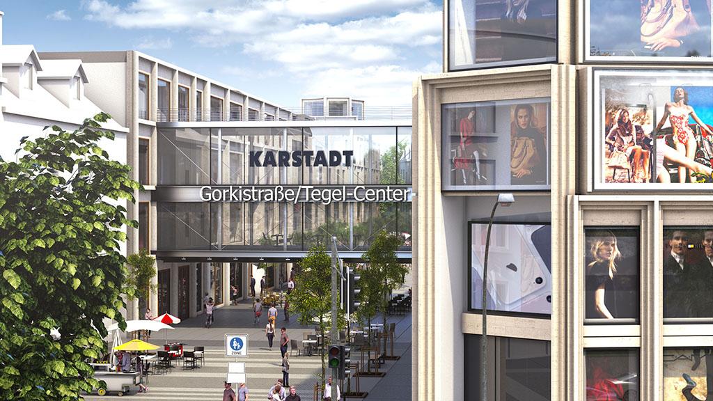 Startschuss für neue Fußgängerzone in Tegel