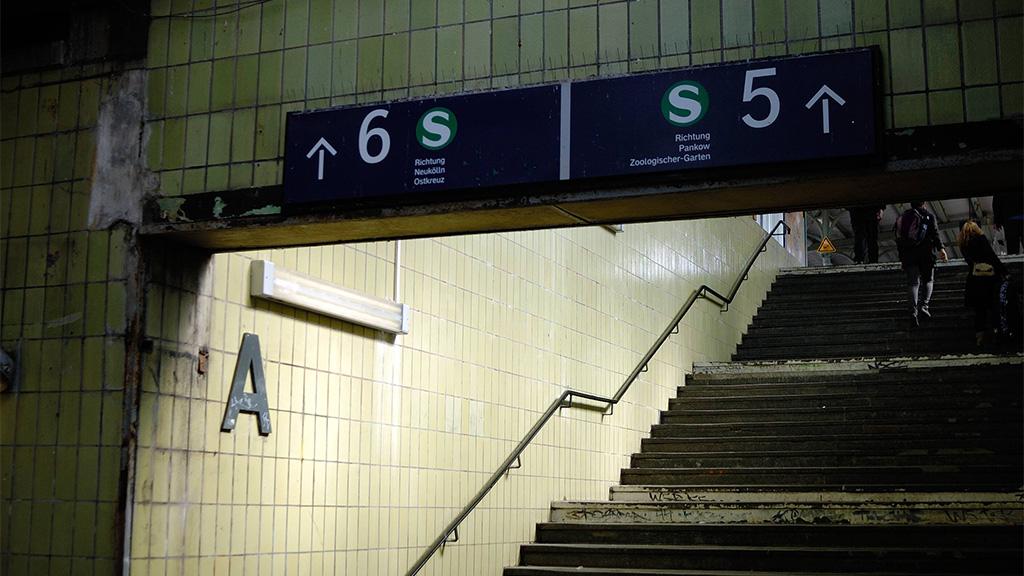 S-Bahn mit Hindernissen