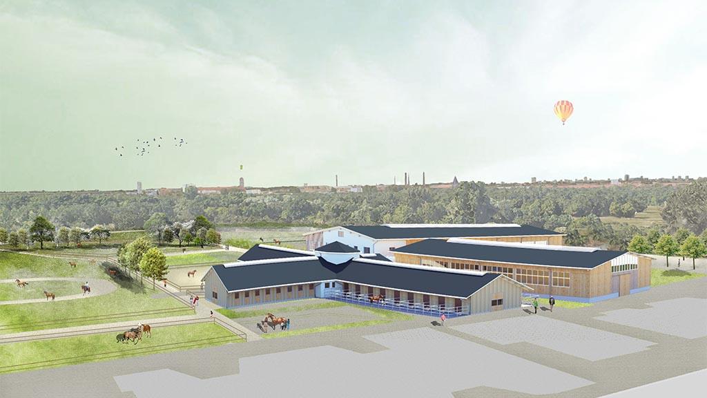 In Karlshorst entsteht ein Therapeutischer Pferdesportpark