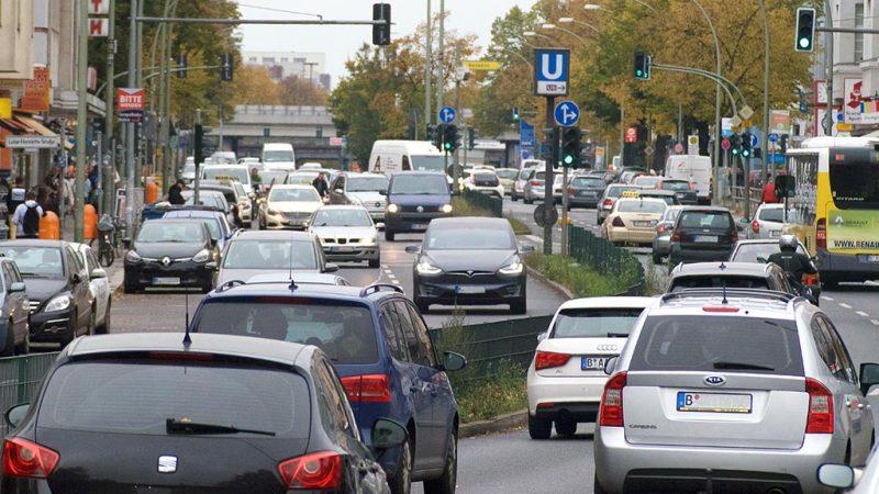 Verkehrsversuch für sicheres Radfahren