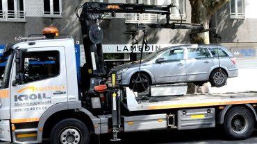 Falschparker: Zu wenig Personal zum Abschleppen